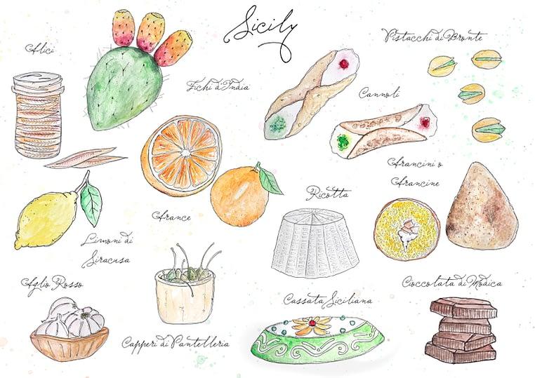 Sicily best food